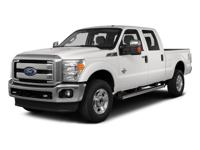 4WD. White 2015 Ford F-350SD Lariat 4WD TorqShift