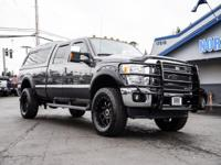 Clean Carfax One Owner 4x4 Diesel Lifted Truck with