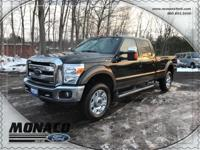 2015 Ford F-350 Super Duty Lariat and 6.2L V8 4x4.