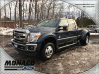 2015 Ford F-350 Super Duty and 6.7L Power Stroke V8.