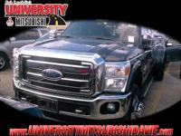 DUALLY! 2015 Ford F-350 Lariat DRW with GVWR: 14,000 lb