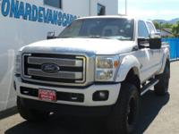 Options:  2015 Ford F-350 Super Duty Platinum|6.7L