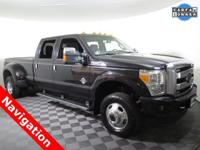 2015 Ford F-350 Crew Cab Platinum 4X4 with a 6.7L Power