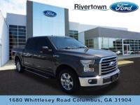 This 2015 Ford F150 Super Crew XLT is a 1 Owner Clean