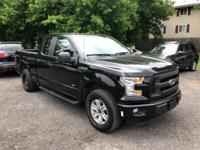 Black 2015 Ford F-150 XL 4WD 6-Speed Automatic
