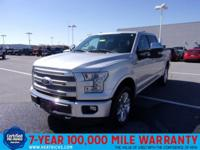 This CERTIFIED ONE owner 2015 Platinum F150 is at the