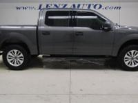 5.0L V8 FFV XLT Ford F-150 Magnetic Metallic 4x4,