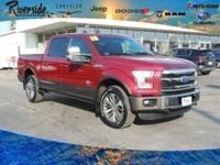 CARFAX One-Owner. 2015 Ford F-150 King Ranch 4WD, ABS