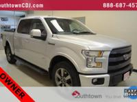 CARFAX One-Owner. Silver 2015 Ford F-150 4WD 6-Speed