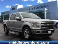 Silver 2015 Ford F-150 Lariat RWD 6-Speed Automatic