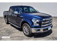 New Price! CARFAX One-Owner. Certified. Blue 2015 Ford