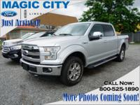 Make sure to get your hands on this 2015 Ford F-150