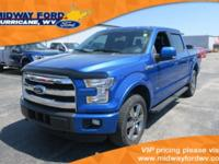 1-OWNER, CLEAN CARFAX, 3.5L ECOBOOST, BLACK LEATHER