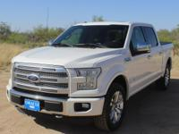 2015 Ford F-150 Platinum CARFAX One-Owner. LIKE NEW!,