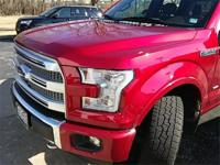 Recent Arrival! 2015 Ford F-150 PLATINUM Ruby Red