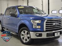 CARFAX One-Owner. Blue Flame Metallic 2015 Ford F-150