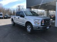 2015 Ford F-150 XLT Silver CARFAX One-Owner. Clean