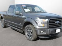 2015 Ford F-150 XLT Certified. 4D SuperCrew, WITH
