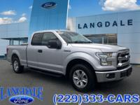 CARFAX One-Owner. Ingot Silver Metallic 2015 Ford F-150