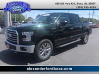 2015 Ford F150 SuperCrew 4WD XLT. +++ Carfax One Owner