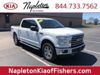 CARFAX One-Owner. White XLT 4WD 6-Speed Automatic