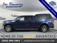 New Price! CARFAX One-Owner. 2015 Ford F-150 XLT Blue