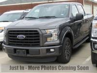 2015 Ford F-150 XLT Magnetic Metallic FORD Certified.