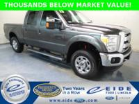 2015 Ford F-250SD 4D Crew Cab Lariat Highlighted with