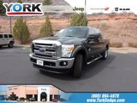 CARFAX One-Owner. Clean CARFAX. Gray 2015 Ford F-250SD