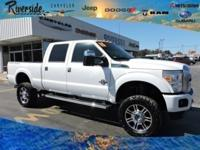 New Price! 2015 Ford F-250SD Platinum 4WD, ABS brakes,