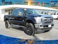 CARFAX One-Owner. 2015 Ford F-350SD Lariat 4WD, ABS