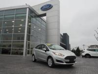 Ingot Silver 2015 Ford Fiesta S FWD 6-Speed Automatic