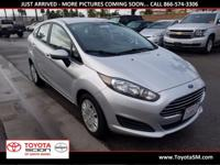 Options:  2015 Ford Fiesta S|Silver|One Owner|Clean