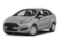 2015 Tuxedo Black Ford Fiesta S Great Condition,