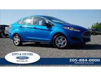 New Price! Clean CARFAX. 2015 Ford Fiesta SE FWD