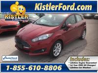 Clean 2015 Ford Fiesta, Low milage, One owner * Rear