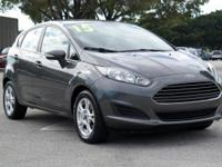 Options:  2015 Ford Fiesta Se|Magnetic/Charcoal