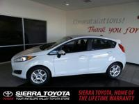 Check out this 2015 Ford Fiesta SE. Its Automatic