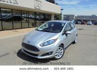 Our One Owner 2015 Ford Fiesta SE Hatchback is ready