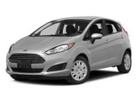Ford Fiesta SE Silver FWDRecent Arrival! Odometer is