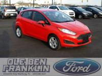 Options:  2015 Ford Fiesta Se|Race Red/Charcoal