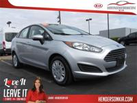 Options:  2015 Ford Fiesta Se|Ingot Silver|Carfax