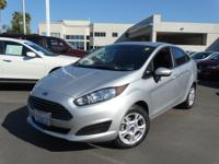Options:  2015 Ford Fiesta Se|Silver|Why Pay More For