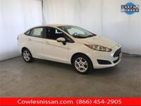 CARFAX One-Owner. Clean CARFAX. White 2015 Ford Fiesta