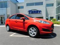 New Price! This 2015 Ford Fiesta SE in Red features: