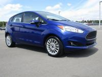 LOCAL TRADE IN, LEATHER SEATS, Fiesta Titanium, 4D