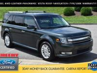 CARFAX One-Owner. Guard Metallic 2015 Ford Flex SEL