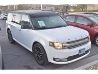 CARFAX One-Owner. Clean CARFAX. White 2015 Ford Flex