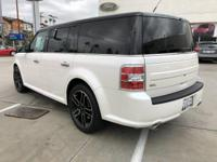 Options:  2015 Ford Flex Sel|White/|V6 3.5 L
