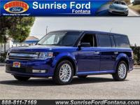 Arrive in style in our 2015 Ford Flex SEL presented in